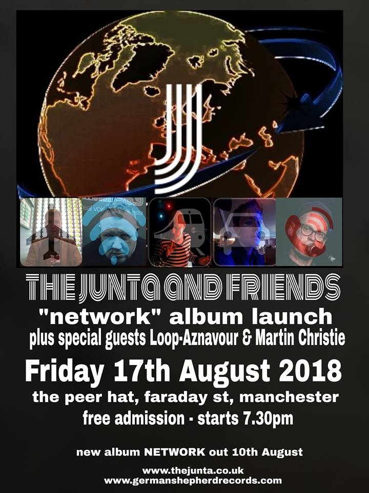 Junta Album Launch Poster