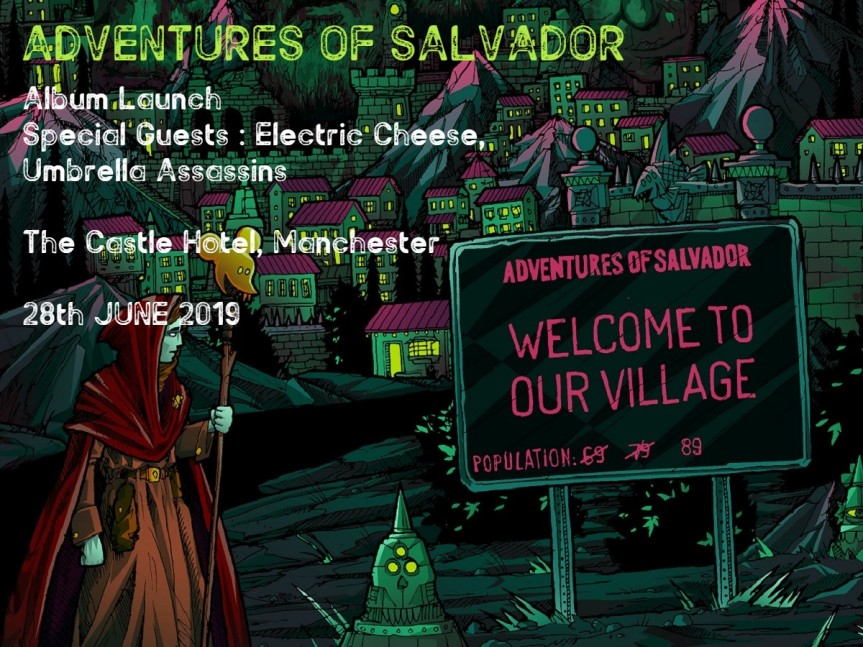 Exclusive Ticket and Album Offer for Adventures of Salvador Album LaunchGig!