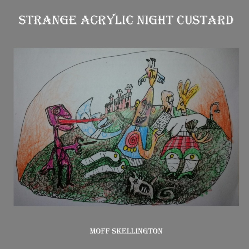 Strange Acrylic Night Custard cover Hi res