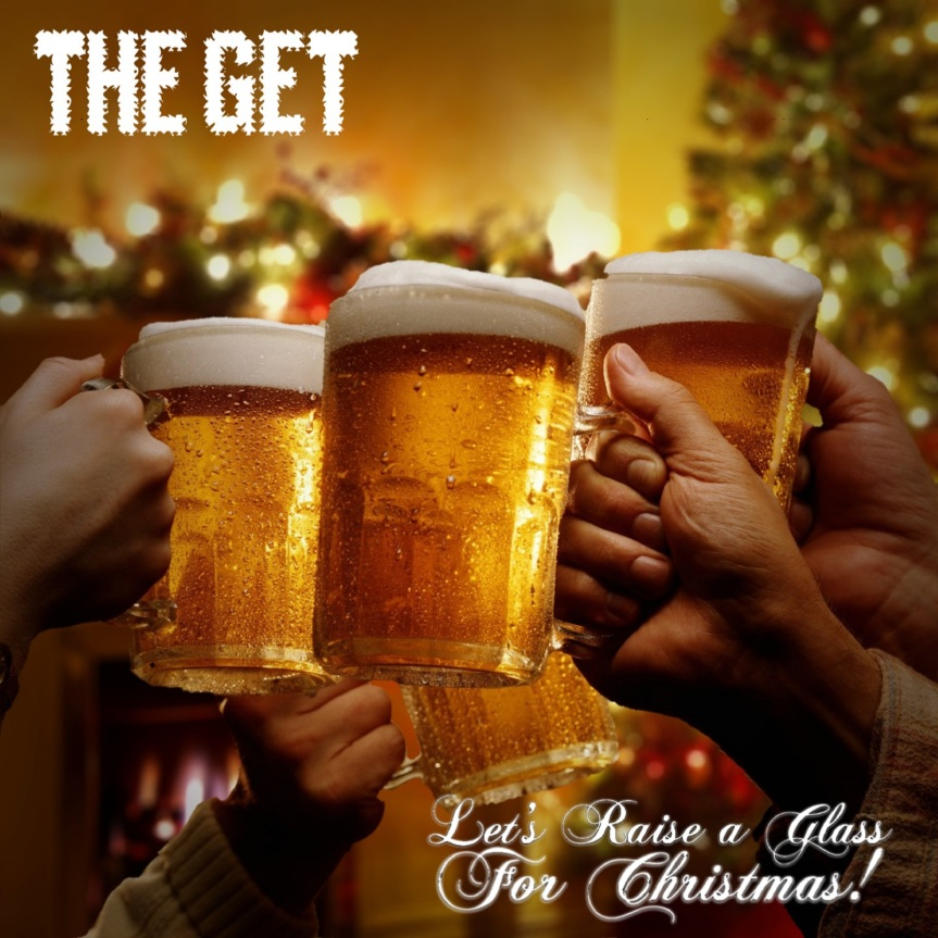 Let_s Raise a Glass for Christmas Artwork